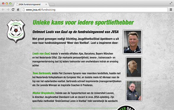 Campagne website